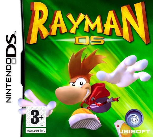 Rayman DS Cover Artwork