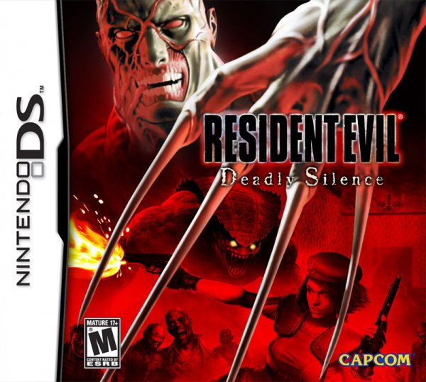 Resident Evil: Deadly Silence Cover Artwork