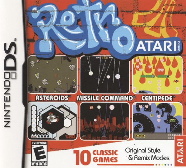 Retro Atari Classics Cover Artwork