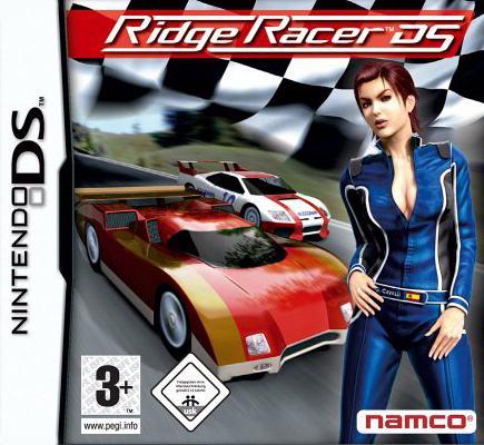 Ridge Racer DS Cover Artwork