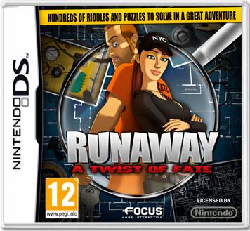 Runaway: A Twist of Fate Cover Artwork