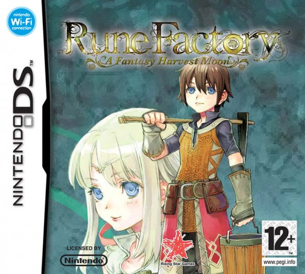 Rune Factory: A Fantasy Harvest Moon Cover Artwork