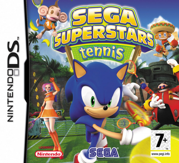SEGA Superstars Tennis Cover Artwork