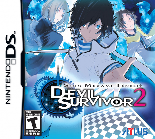 Shin Megami Tensei: Devil Survivor 2 Cover Artwork