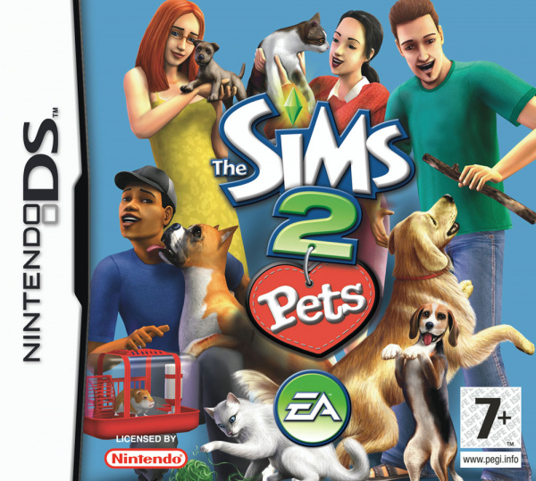 The Sims 2: Pets Cover Artwork