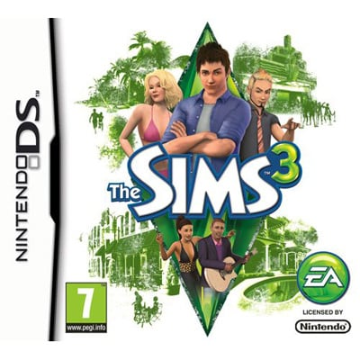 The Sims 3 Cover Artwork