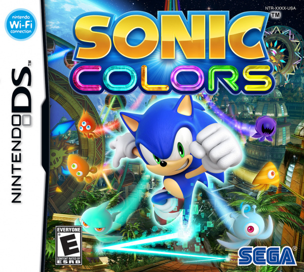 Sonic Colours Cover Artwork