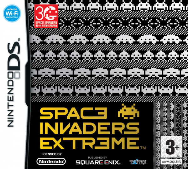 Space Invaders Extreme Cover Artwork