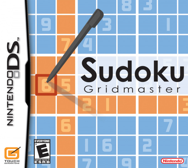 Sudoku Gridmaster Cover Artwork