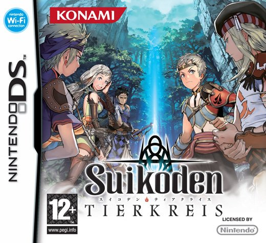 Suikoden: Tierkreis Cover Artwork