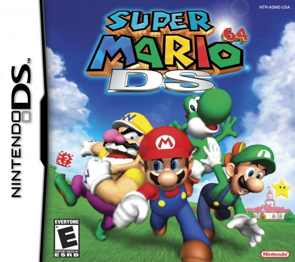 Super Mario 64 DS Cover Artwork