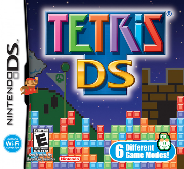 Tetris DS Cover Artwork