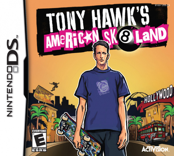 Tony Hawk's American Sk8land Cover Artwork