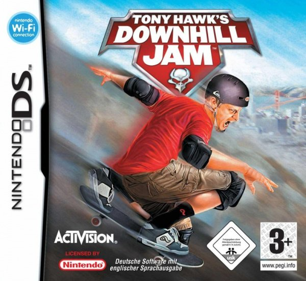 Tony Hawk's Downhill Jam Cover Artwork