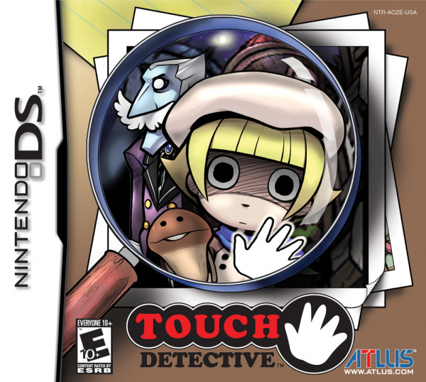Touch Detective Cover Artwork