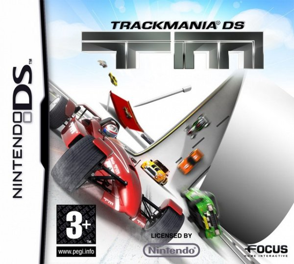 TrackMania DS Cover Artwork