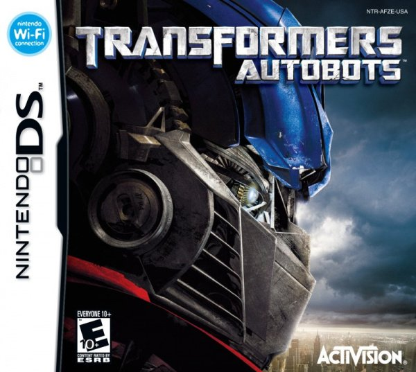 Transformers: Autobots Cover Artwork