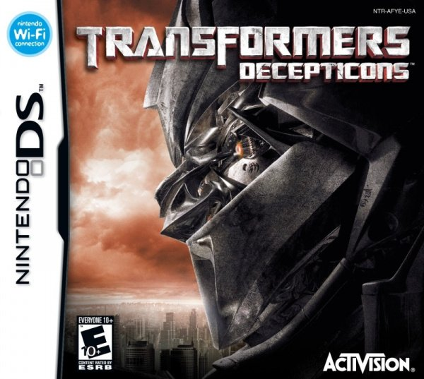 Transformers: Decepticons Cover Artwork