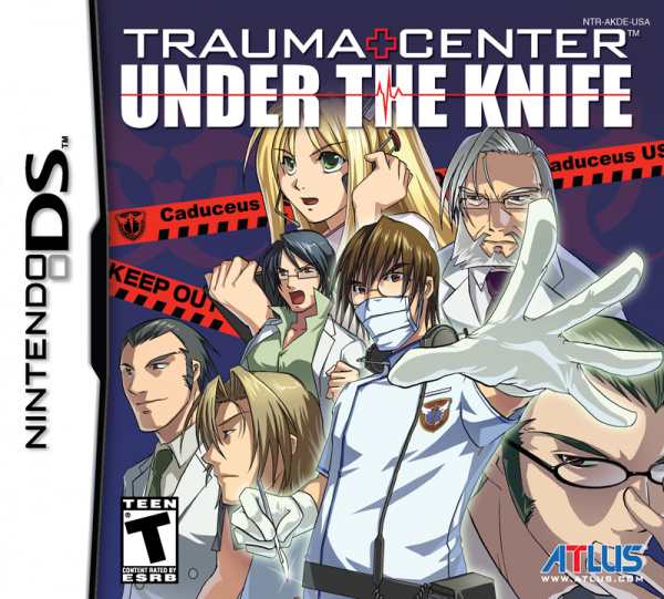Trauma Center: Under The Knife Cover Artwork
