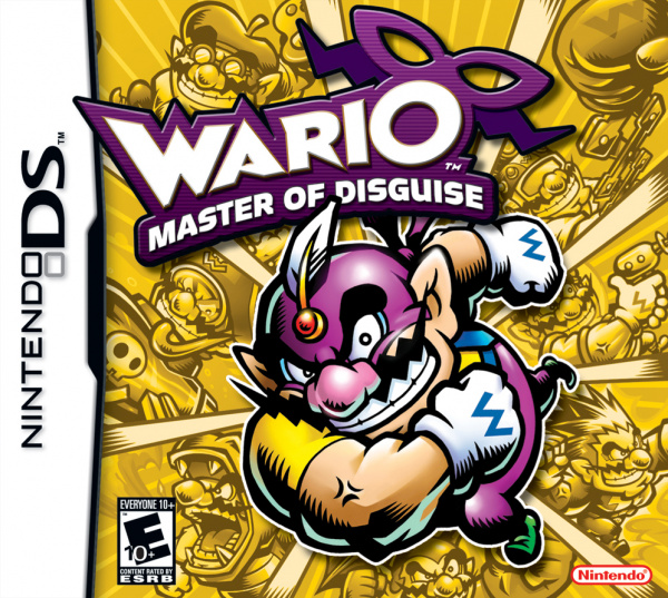 Wario: Master of Disguise Cover Artwork