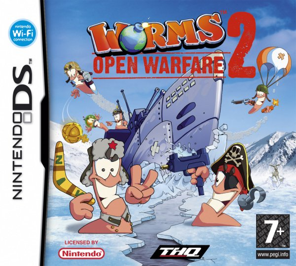 Worms: Open Warfare 2 Cover Artwork