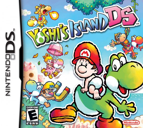 Yoshi's Island DS Cover Artwork