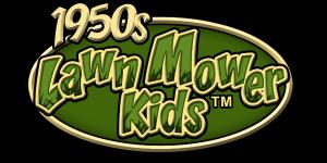 1950s Lawn Mower Kids