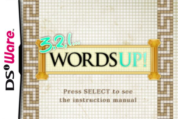 3, 2, 1... Words Up! Cover Artwork