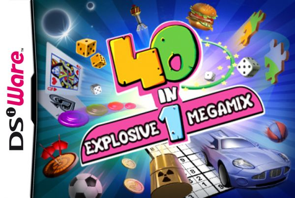 40-in-1 Explosive Megamix Cover Artwork