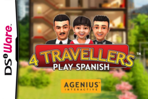 4 TRAVELLERS: Play Spanish Cover Artwork