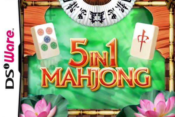 5-in-1 Mahjong Cover Artwork