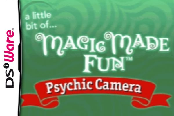 A Little Bit of... Magic Made Fun: Psychic Camera Cover Artwork