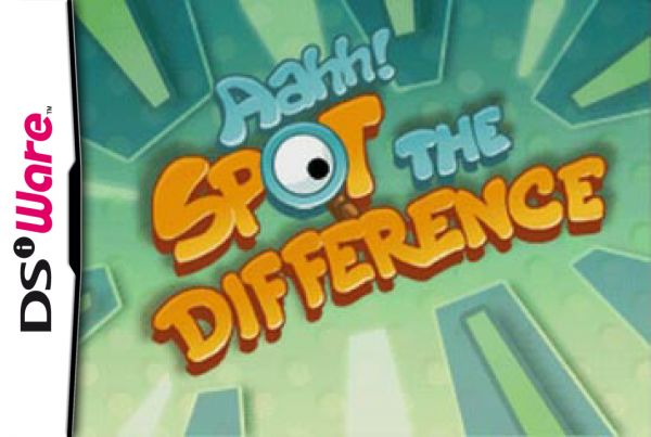 Aahh! Spot the Difference Cover Artwork