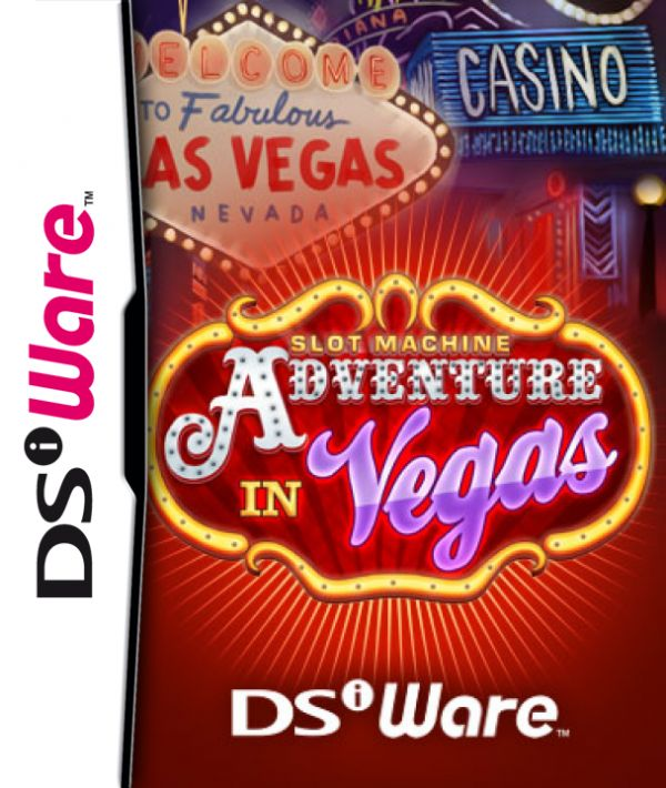Adventure In Vegas: Slot Machine Cover Artwork