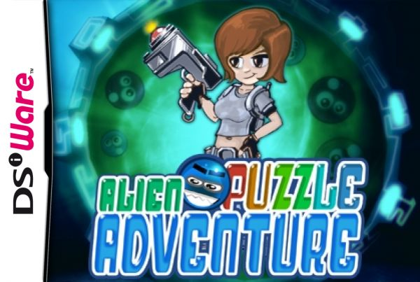 Alien Puzzle Adventure Cover Artwork