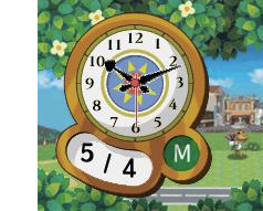 Animal Crossing Clock Cover Artwork