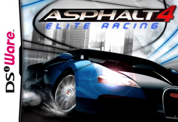 Asphalt 4: Elite Racing Cover Artwork