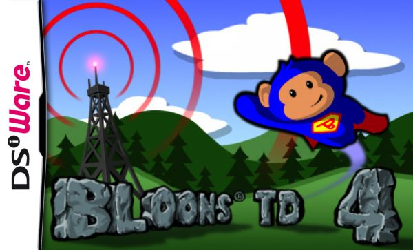 Bloons TD 4 Cover Artwork