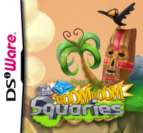 Boom Boom Squaries Cover Artwork