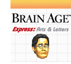 Brain Age Express: Arts & Letters Cover Artwork