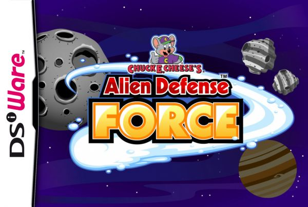 Chuck E. Cheese's Alien Defense Force Cover Artwork