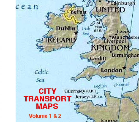 City Transport Map Volumes 1 & 2 - 2009