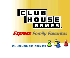 Clubhouse Games Express: Family Favorites Cover Artwork