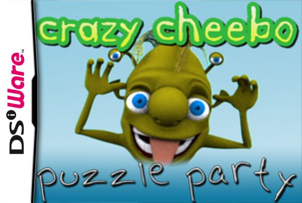 Crazy Cheebo: Puzzle Party Cover Artwork