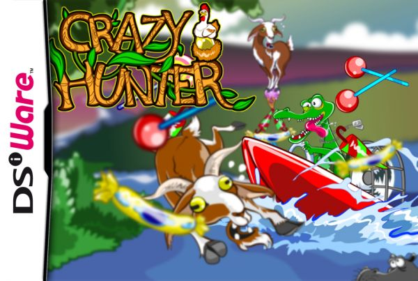 Crazy Hunter Cover Artwork
