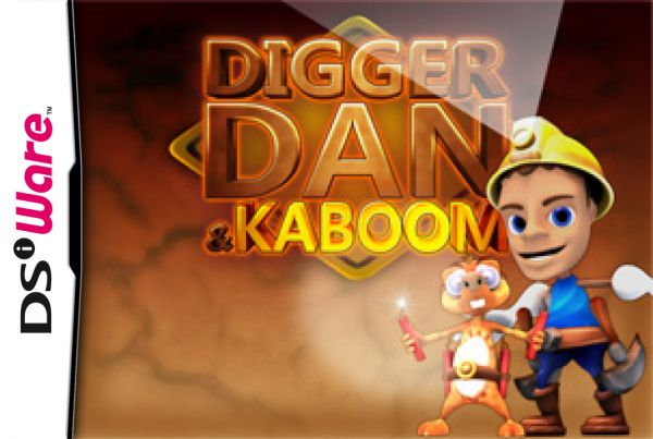 Digger Dan & Kaboom Cover Artwork