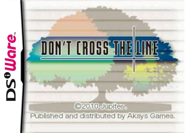 Don't Cross the Line Cover Artwork