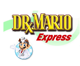 Dr. Mario Express Cover Artwork