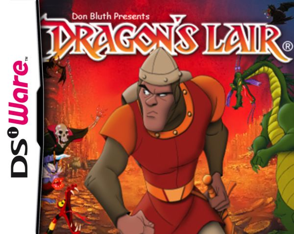 Dragon's Lair Cover Artwork