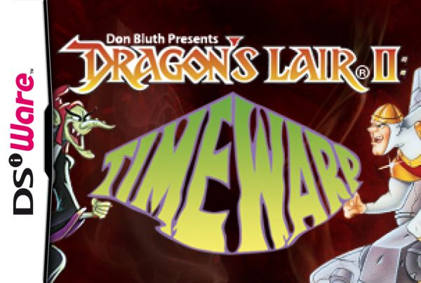 Dragon's Lair II: Time Warp Cover Artwork